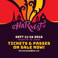 Harvest Jazz & Blues Festival 2018 from Tue Sep 11 to Sun Sep 16, 2018